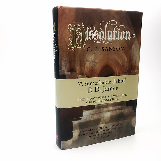 Dissolution by C.J. Sansom 1st / 1st 2003
