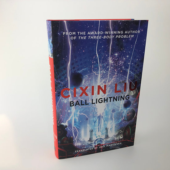 Ball Lightning signed by Cixin Liu 1st / 1st 2018