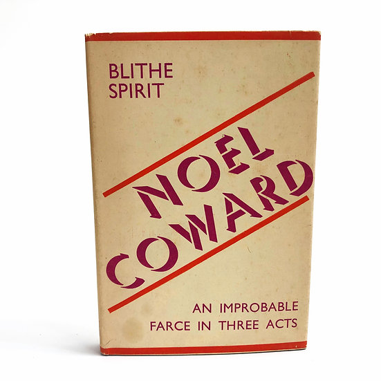 Blithe Spirit by Noel Coward 1st / 1st 1942