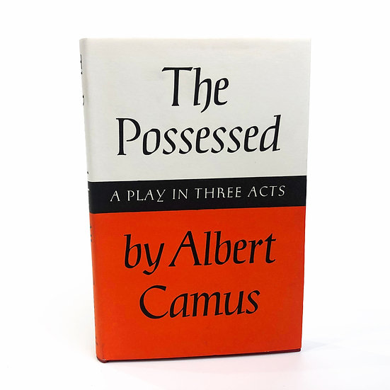 The Possessed by Albert Camus 1st / 1st 1960