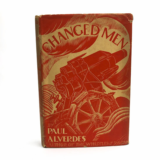 Changed Men by Paul Alverdes 1st / 1st 1930