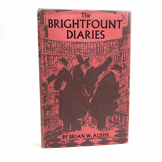 The Brightfount Diaries signed by Brian Aldiss 1st / 1st 1955