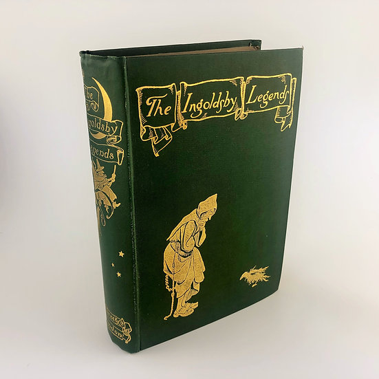 The Ingoldsby Legends by Thomas Ingoldsby / Arthur Rackham 1st 1898