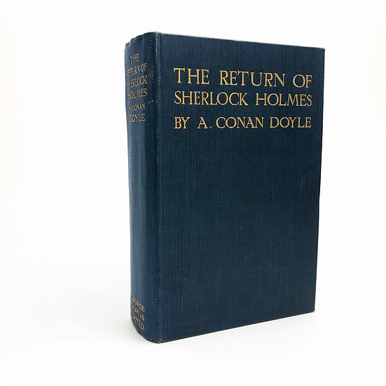 The Return of Sherlock Holmes by Arthur Conan Doyle 1st / 1st 1905