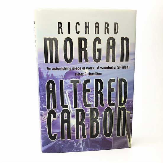 Altered Carbon Signed by Richard Morgan 1st / 1st 2002