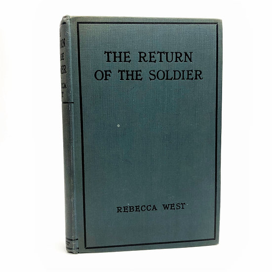 The Return of the Soldier by Rebecca West 1st / 1st 1918