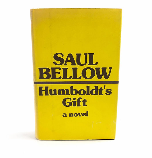 Humboldt's Gift by Saul Bellow 1st / 1st 1975
