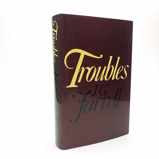 Troubles by J.G. Farrell 1st revised edition 1983