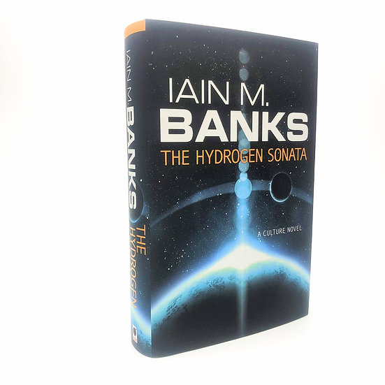 The Hydrogen Sonata Signed by Iain M Banks 1st / 1st 2012