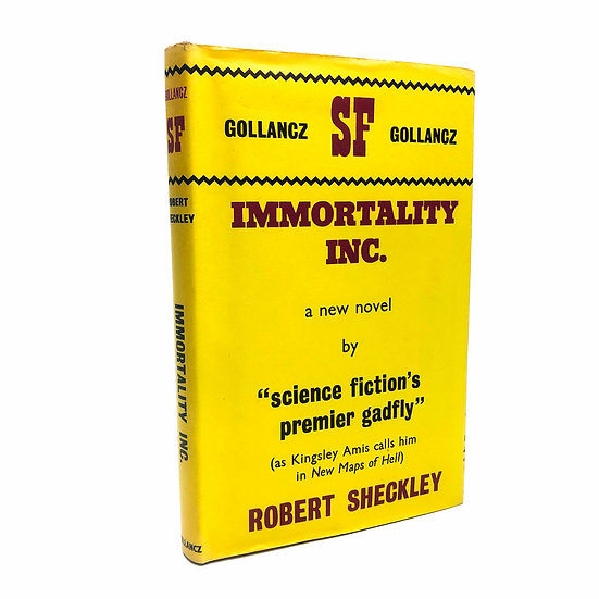 Immortality Inc. by Robert Sheckley 1st / 1st 1963