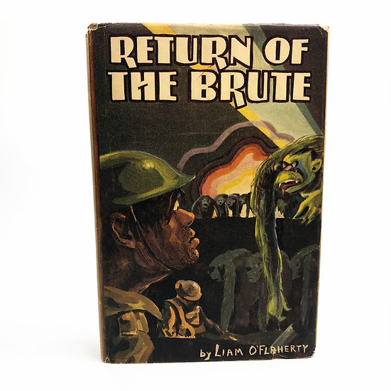 Return of the Brute Signed by Liam O'Flaherty 1st / 1st 1929