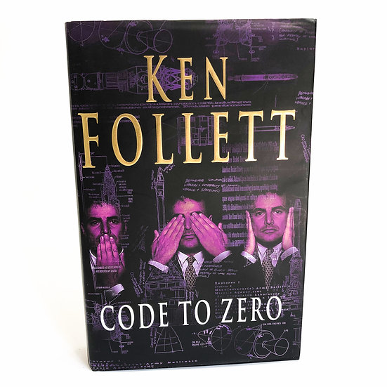 Code to Zero, signed by Ken Follett, 1st/1st, 2000