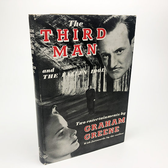 The Third Man and The Fallen Idol by Graham Greene 1st / 1st 1950
