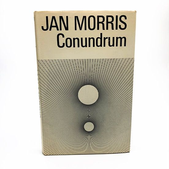 Conundrum by Jan Morris 1st / 1st 1974