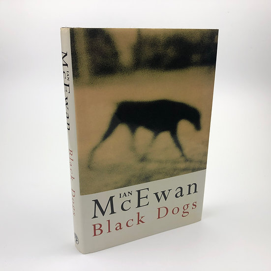 Black Dogs signed by Ian McEwan 1st / 1st 1992