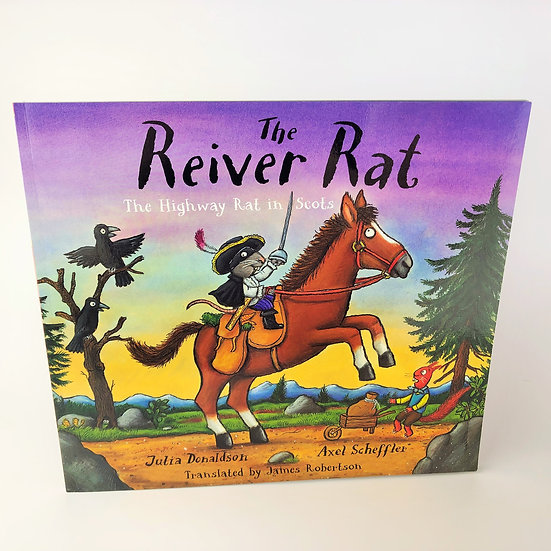 The Reiver Rat signed and doodled Julia Donaldson 1st / 1st 2011