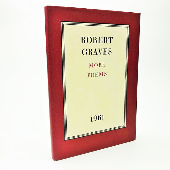 More Poems 1961 by Robert Graves 1st / 1st 1961