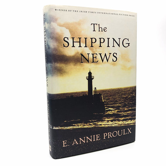 The Shipping News Signed by E. Annie Proulx 1st / 1st 1994