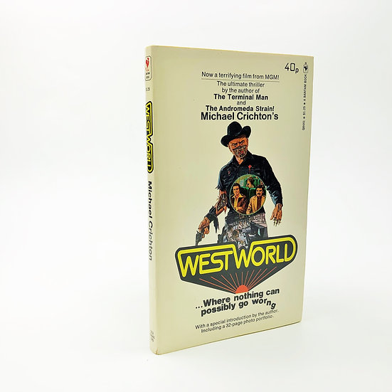 Westworld by Michael Crichton 1st / 1st 1974