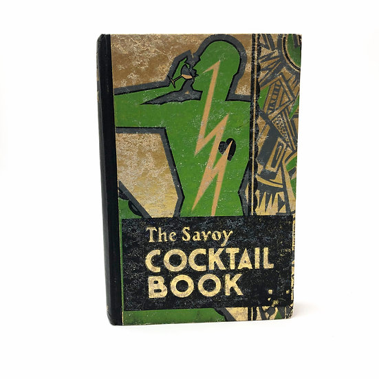 The Savoy Cocktail Book by Harry Craddock 1st / 1st 1930