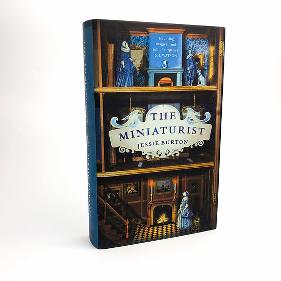The Miniaturist Signed and Lined by Jessie Burton 1st / 1st 2014