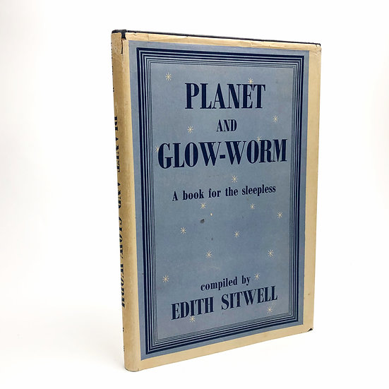 Planet and Glow-Worm signed association copy Edith Sitwell 1st / 1st 1944