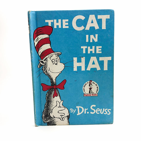 The Cat In The Hat by Dr. Seuss First UK 1st / 1st 1958