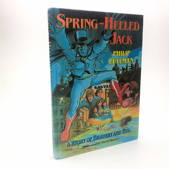 Spring-Heeled Jack Signed by Philip Pullman 1st / 1st 1989