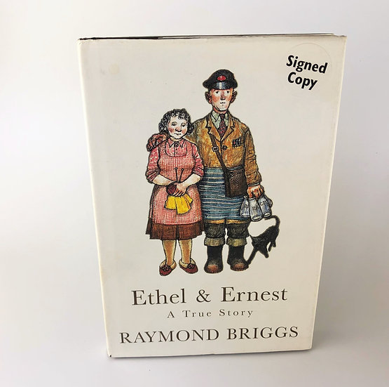 Ethel & Ernest signed by Raymond Briggs 1st / 1st 1998