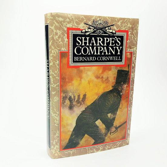 Sharpe's Company Signed by Bernard Cornwell 1st / 1st 1982