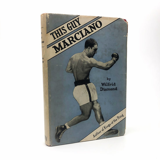 This Guy Marciano Signed Presentation Copy by Wilfrid Diamond 1st / 1st 1955