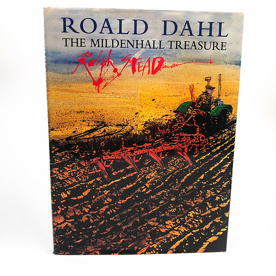 The Mildenhall Treasure by Roald Dahl signed and doodled Ralph Steadman 1st 1999