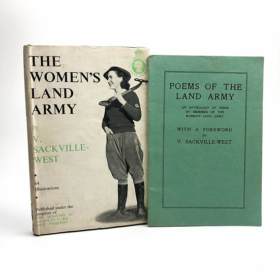 The Women's Land Army / Poems of the Land Army by Vita Sackville-West 1st 1944