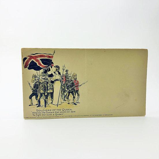 J.C. Wilson Envelope 'Soldiers of the Queen' Rudyard Kipling 1900
