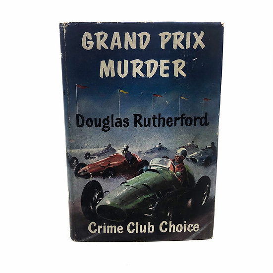 Grand Prix Murder by Douglas Rutherford 1st / 1st 1955