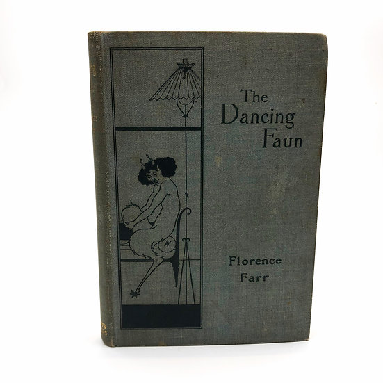 The Dancing Faun by Florence Farr 1st / 1st 1894 Aubrey Beardsley