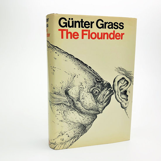 The Flounder signed by Gunter Grass 1st / 1st 1978
