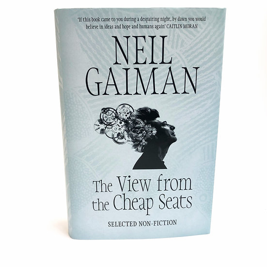 The View from the Cheap Seats signed by Nell Gaiman, 1st/1st, 2016