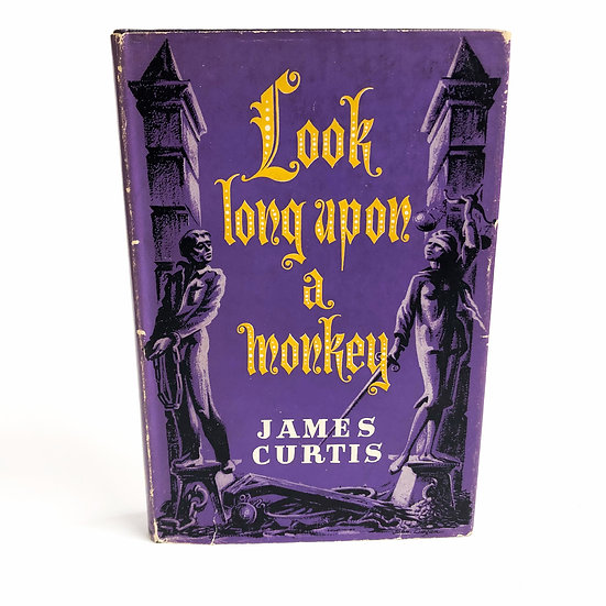 Look long upon a monkey by James Curtis, 1st/1st, 1956