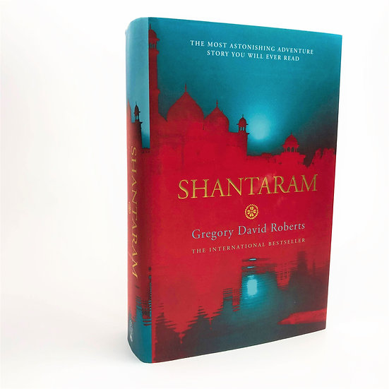 Shantaram signed and lined by Gregory David Roberts 1st / 1st 2004