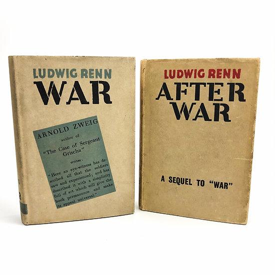 War & After War by Ludwig Renn 1st / 1st 1929-31