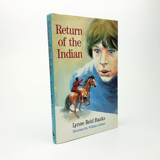 Return of the Indian signed by Lynne Reid Banks 1st / 1st 1986