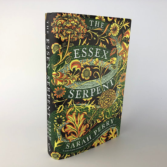 The Essex Serpent signed by Sarah Perry 1st / 1st