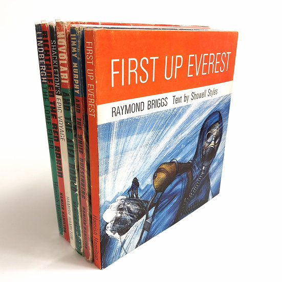 Great Events in Human Achievement Series by Raymond Briggs 6 vols 1st 1969