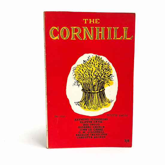 What Every Writer Wants (The Cornhill) signed by John Le Carre 1st 1966/67