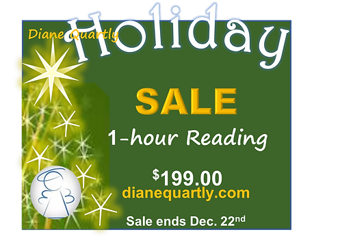 2021 Christmas SALE - 1 HR Reading for 1