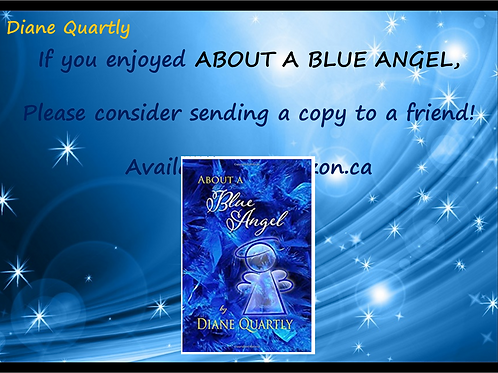 "Book ""About a Blue Angel""- Diane Quartly"