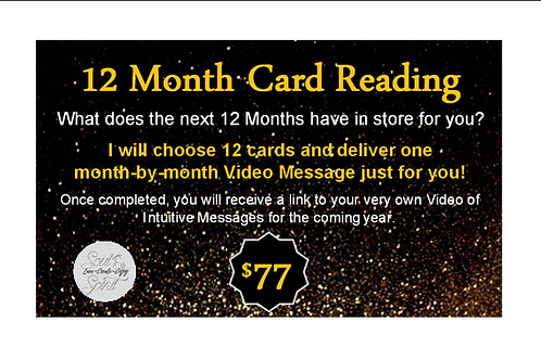 12 Month Card Reading