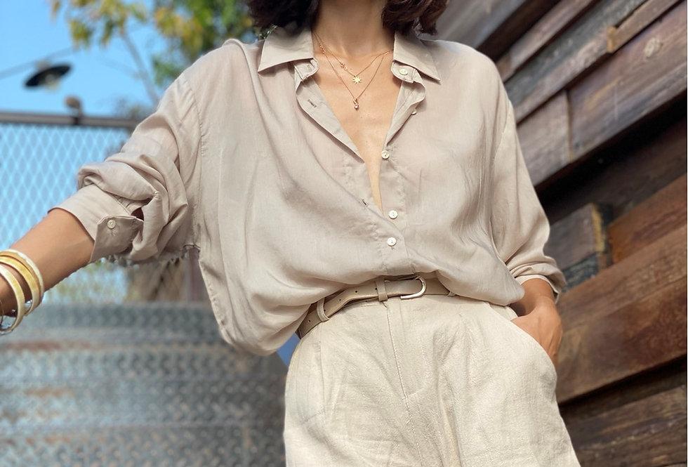 Monroe silk top