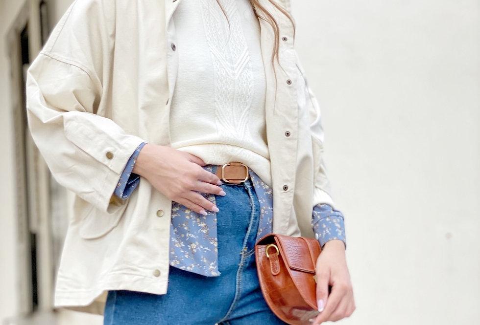 Savanna jacket . Stone